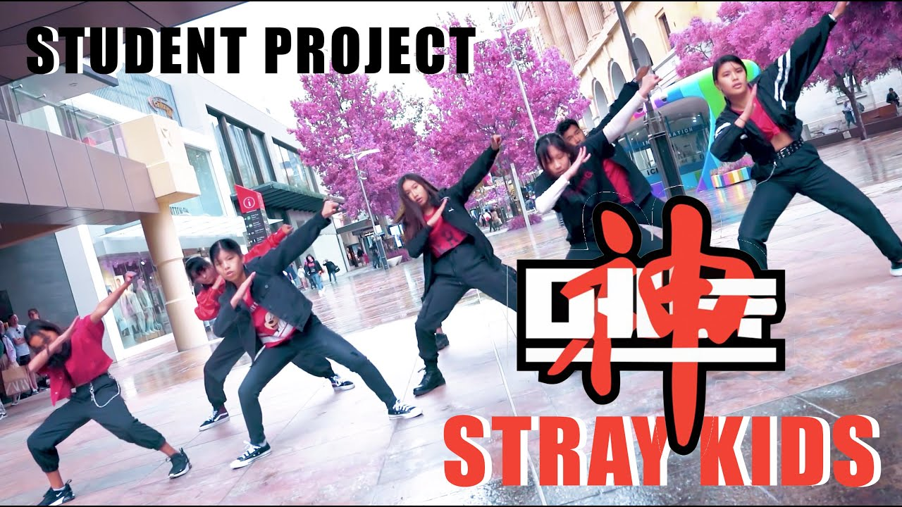 [KPOP IN PUBLIC CHALLENGE] STRAY KIDS (스트레이 키즈) - God's Menu (神메뉴) 댄스커버 Student Project | Australia