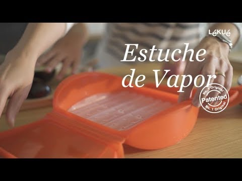 Estuche de Vapor 3-4 con bandeja   Lékué
