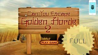 Can You Escape Golden Horde 2