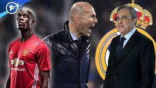 Zinedine Zidane s'entête sur le dossier Paul Pogba | Revue de presse
