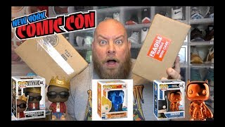 $80 FUNKO POP Chrono Toys NYCC High Roller Mystery Box + PULLED THE IMPOSSIBLE *FUNKO POP GRAIL*