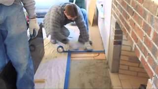 How to install a fireplace hea…