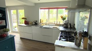 Kath and Greg's new family kitchen - The £100k House: Tricks of the Trade - Episode 2 - BBC Two