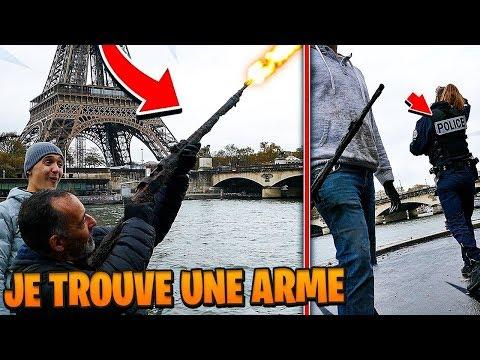 PARIS INCROYABLE: JE TROUVE UNE ARME DE LA SECONDE GUERRE MONDIALE CHRISDETEK