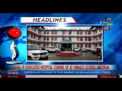Impact News Manipuri 5pm 04JUNE2020