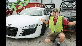 Buying a Audi R8 & Aston Martin on Copart?