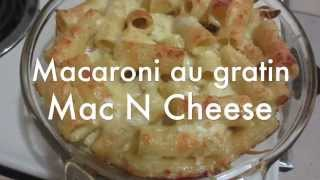 How I Cook: Macaroni Au Gratin - Mac N Cheese Haitian Style