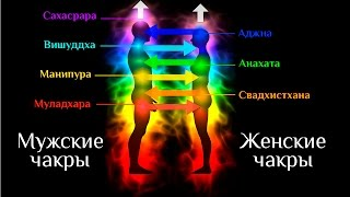 Мужская и Женская энергия. Взаимодействие по Чакрам.