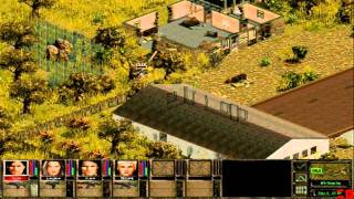 Jagged Alliance 2 online Deathmatch gameplay 01 (Lan)