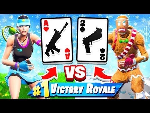 WAR Card GAME *NEW* Game Mode in Fortnite Battle Royale