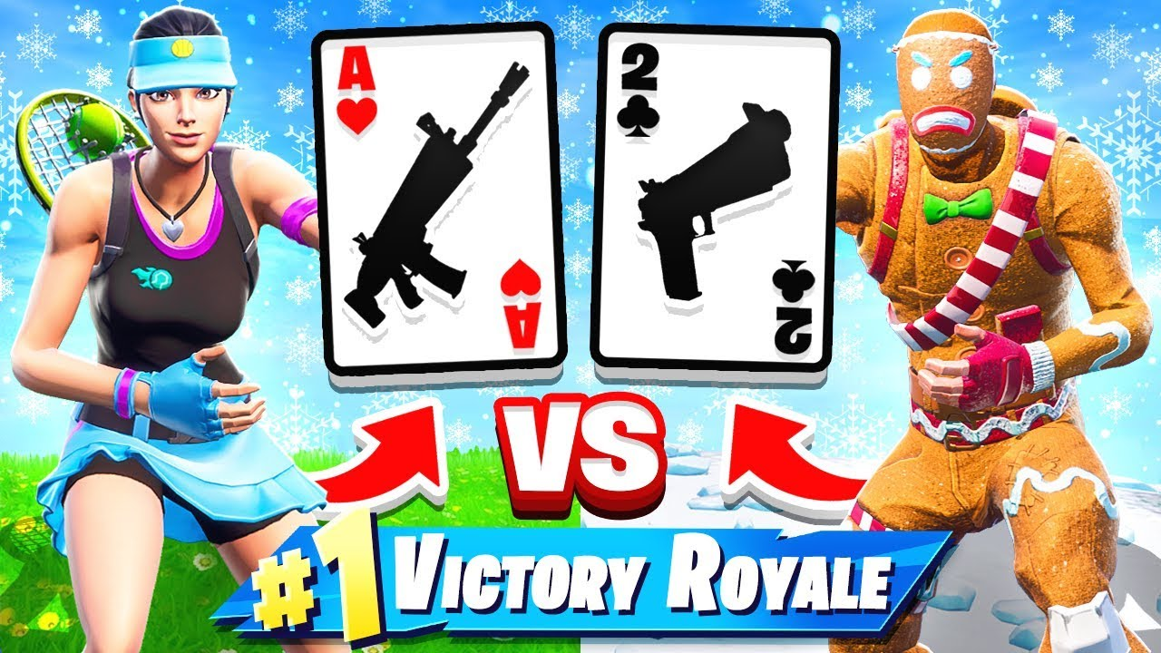 WAR-Kartenspiel * NEU * Spielemodus in Fortnite Battle Royale + video