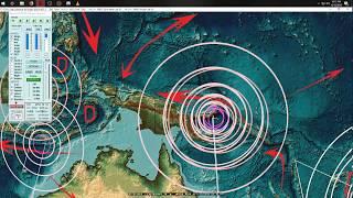 10/13/2018 -- Multiple new deep earthquakes + several M5.7 EQ's strike across planet
