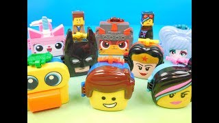 2019 The Lego Movie 2 The Second Part Set Of 8 Mcdonalds Happy Meal Toys Review