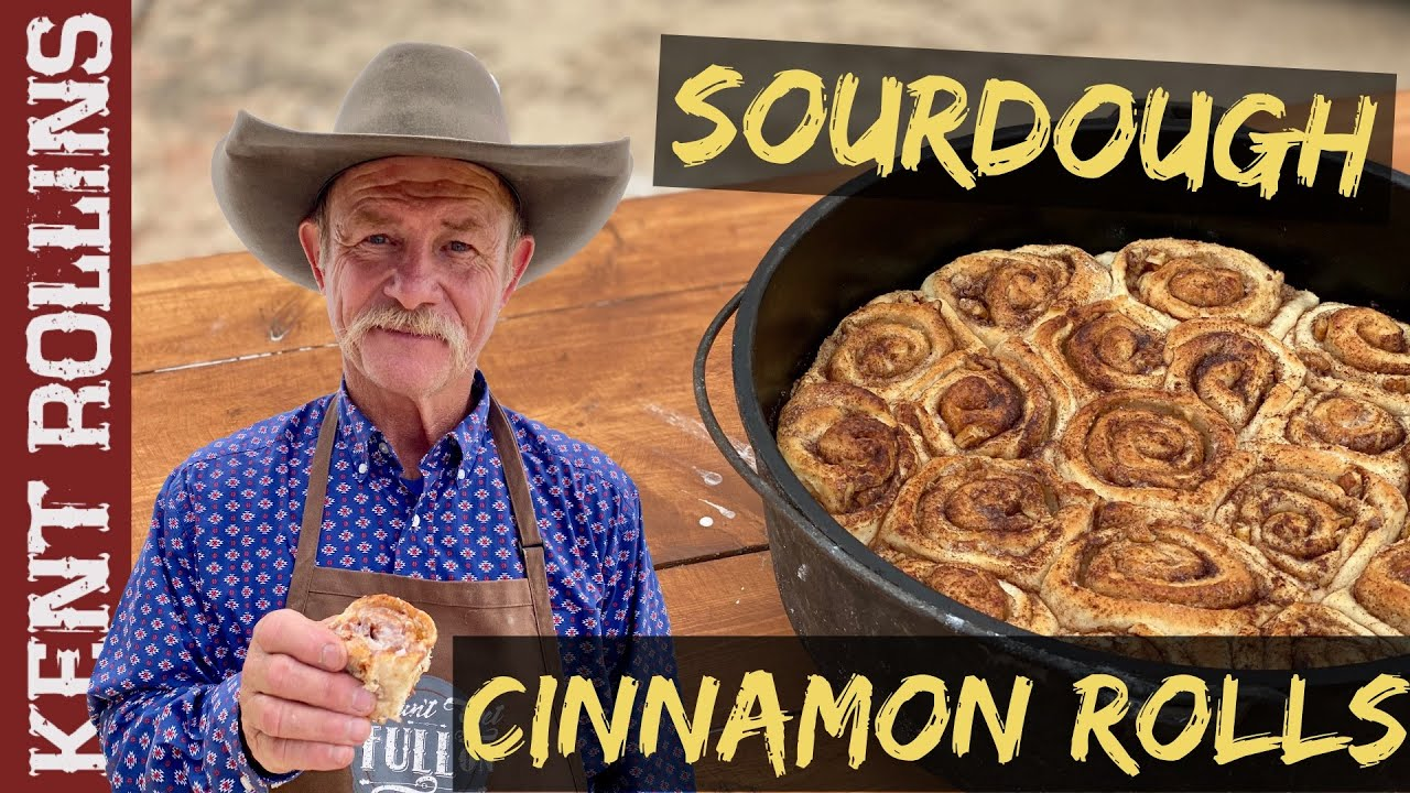 Homemade Cinnamon Rolls   Sourdough Cinnamon Rolls with Easy Starter Recipe