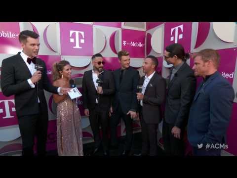 2017 ACM Awards: Backstreet Boys Red Carpet Interview