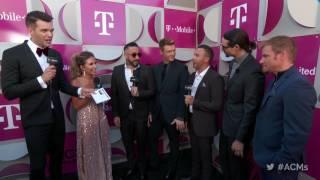 2017 acm awards backstreet boys red carpet interview