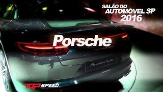 Porsche Panamera 2017 No Salão Do Automóvel