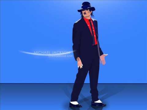 Michael Jackson - Dangerous Live Studio Version 1995