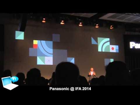 Panasonic IFA 2014: X1000 camcorder, HXS and HGS10 headsets, Technics brand