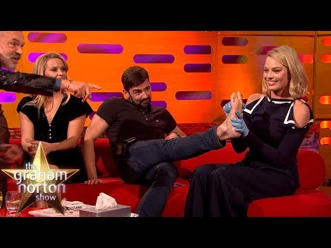 Download Youtube: Margot Robbie TATTOOS One of the Production Staff! | The Graham Norton Show