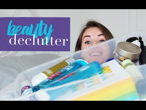 Beauty Declutter - Skincare, Haircare & Body Care  |  RobynCaitlin