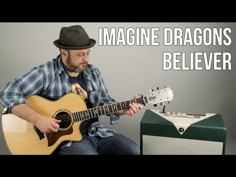 3 Chord Easy Acoustic Song - Imagine Dragons