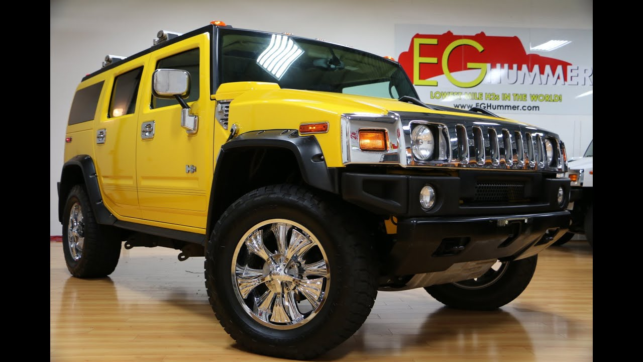 2005 Hummer H2 Luxury For Sale Navigation Moon DVD Chrome Rims