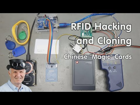 #235 RFID Hacking and Cloning with Magic Cards, Proxmark3 and Arduino (T5577)