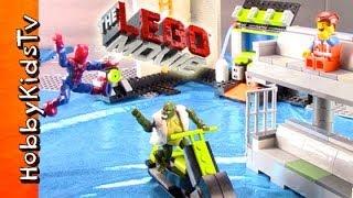 LEGO The MOVIE Emmet and SPIDERMAN Adventure HobbyKidsTV thumbnail