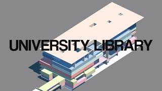 UTRECHT UNIVERSITY LIBRARY I WIEL ARETS I A WALK THROUGH IN 4K