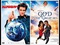 BRUCE ALMIGHTY(JIM CARREY) VS GOD TUSSI GREAT HO(SALMAN KHAN)|SIMILAR SCENE IN HINDI thumbnail