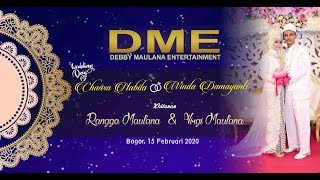 AjP Pro - Live Streaming DME Pro - Wedding CHANSA NABILA & WINDA DAMAYANTI