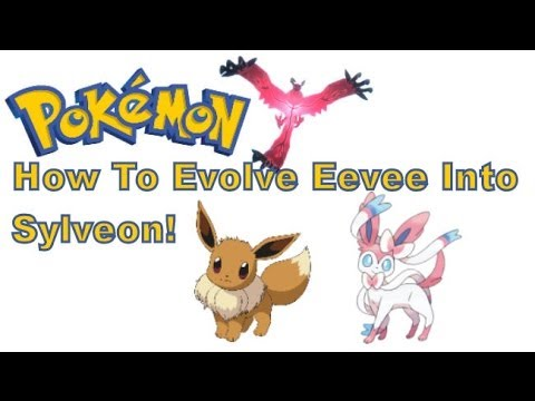 also pokemon  and  ds xl how to evolve eevee into sylveon youtube rh