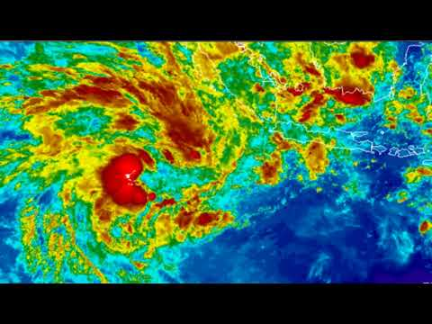 Developing Tropical Weather scene SIO Friday 5January  17:07AEST