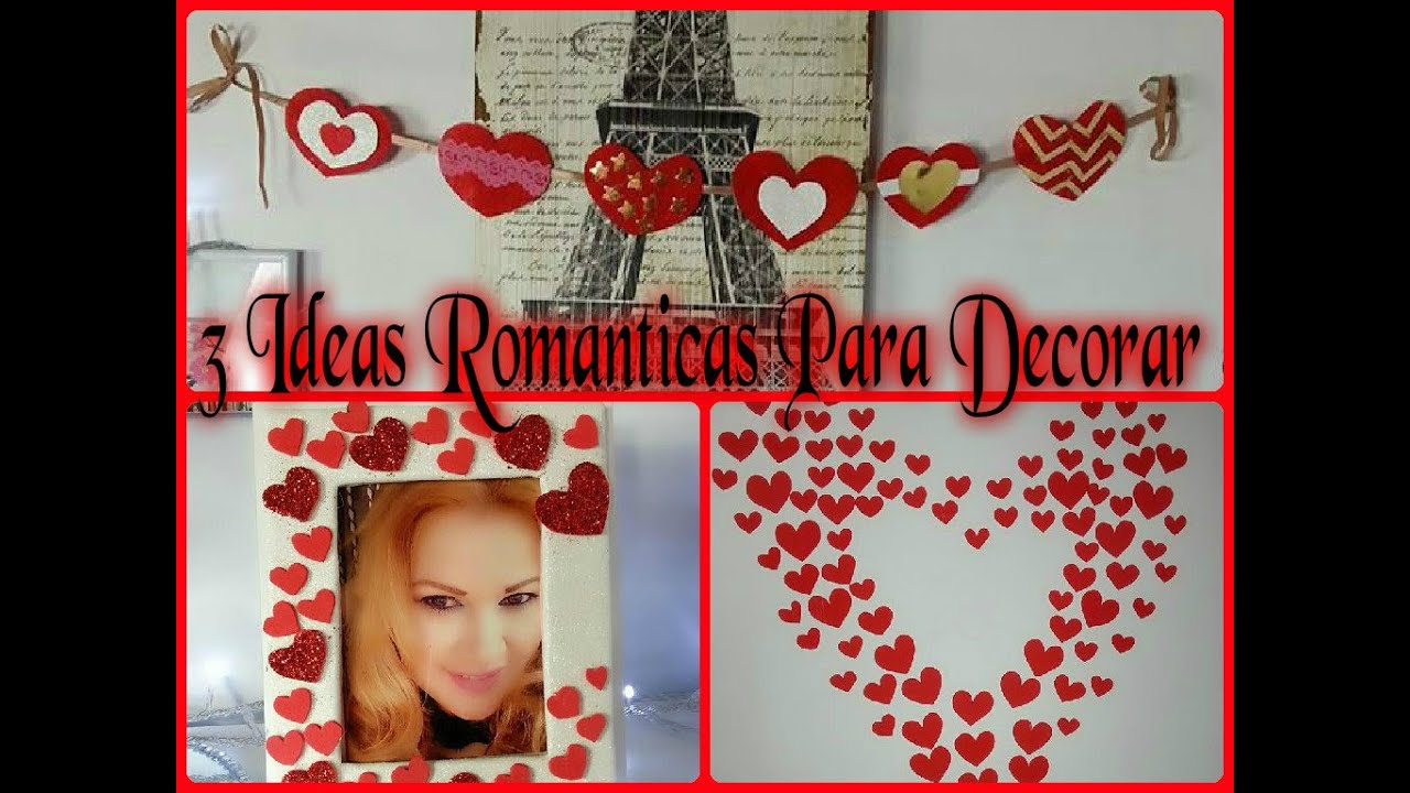 Diy 3 ideas para decorar romanticas lindas y economicas for Ideas para decorar habitaciones romanticas