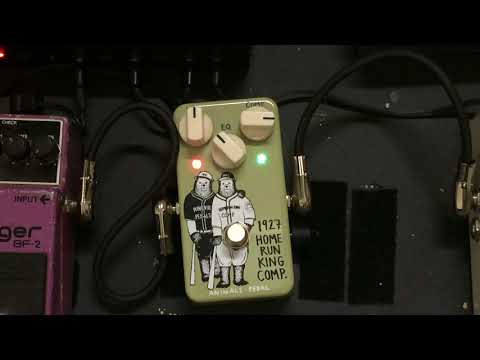 Animals Pedal 1927 Home Run King Comp Demo | Stratocaster | 80s Vibes