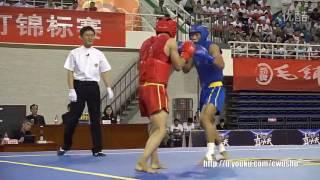 2016 China Men's Sanda Championship finals 65kg (cao yaguang vs zhang ten