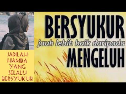 BERSYUKURLAH,,,!!!