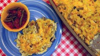 Classic Tuna Noodle Casserole ~ Retro Recipe ~  Noreen