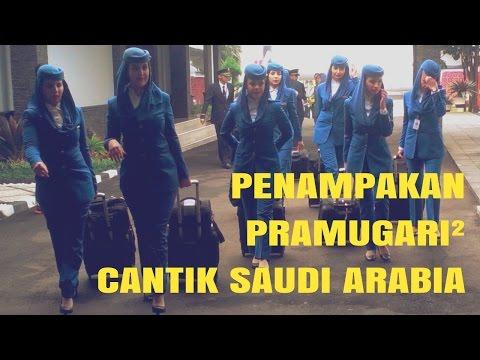 Tiba di Jakarta, Begini Penampakan Pramugari Arab Saudi