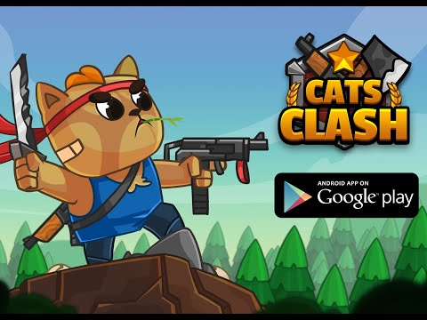 Cats Clash : Epic Battle Arena Strategy Game