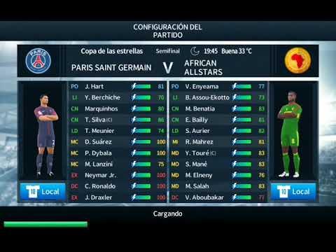 París Saint Germain Vs African All-Stars - Semifinal - Dream League Soccer
