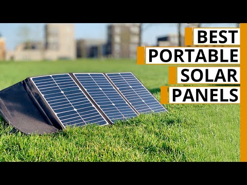 7 Best Portable Solar Panel & Charger for Camping & Backpacking