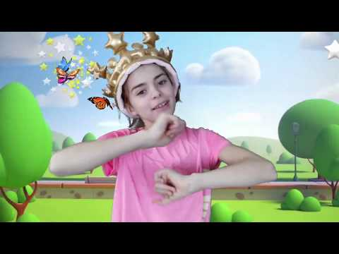 A Ram Sam Sam Song | Dance Kids Songs | Beatris pretend play with sister