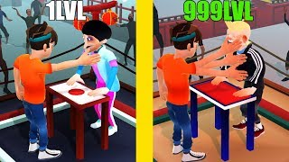 Slap Kings! IS THIS MAX LEVEL POWER, STRENGTH SLAP EVOLUTION! Slap Kings Level 999? screenshot 3