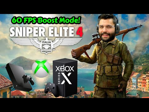 Sniper Elite 4 New FPS Boost Xbox Series X Vs Xbox One X Performance Graphics Analysis Comparison
