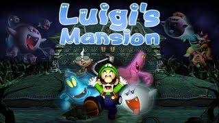 Luigi's Mansion Part 4: Taking down the fat ghost.