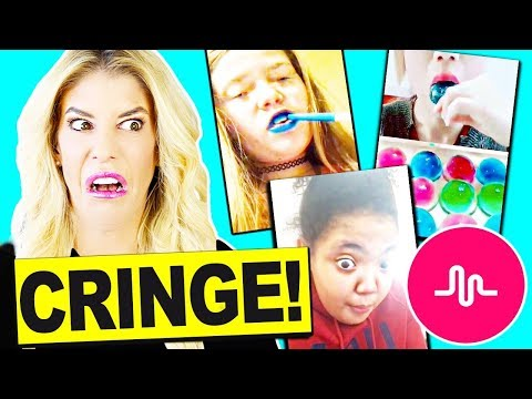 I Can't Believe They Did This! Reacting To Fan's Cringy Musical.ly Videos Challenge