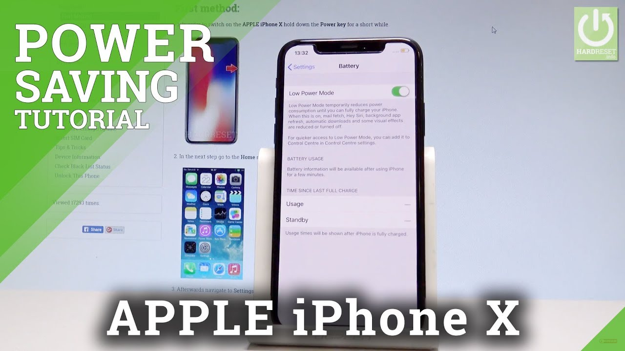 iphone power saving mode low power mode apple iphone x power saving in ios 15366