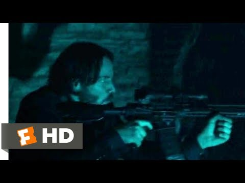 John Wick: Chapter 2 (2017) - Catacombs Shootout Scene (4/10) | Movieclips